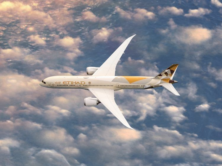 Etihad Airways Boeing 787 Copyright