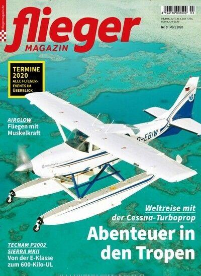 Fliegermagazin Cover