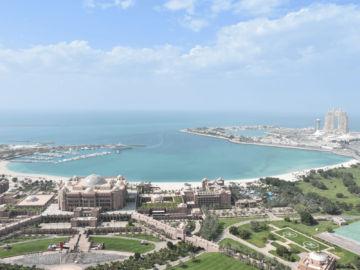 Grand Hyatt Abu Dhabi Praesidentensuite Ausblick
