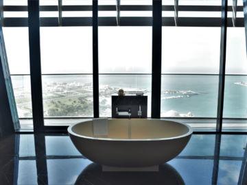 Grand Hyatt Abu Dhabi Praesidentensuite Badewanne