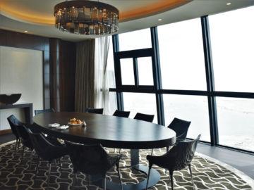 Grand Hyatt Abu Dhabi Praesidentensuite Essbereich