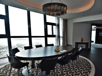 Grand Hyatt Abu Dhabi Praesidentensuite Esszimmer
