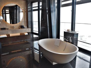 Grand Hyatt Abu Dhabi Praesidentensuite Hauptbadezimmer