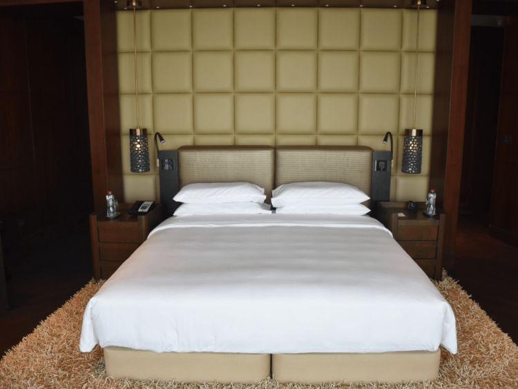 Grand Hyatt Abu Dhabi Praesidentensuite Master Bedroom