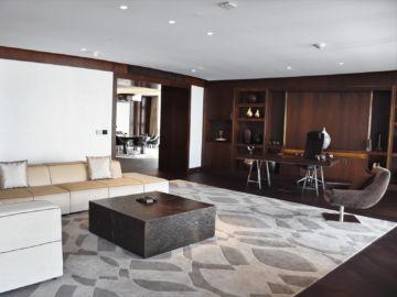 Grand Hyatt Abu Dhabi Praesidentensuite Wohnzimmer