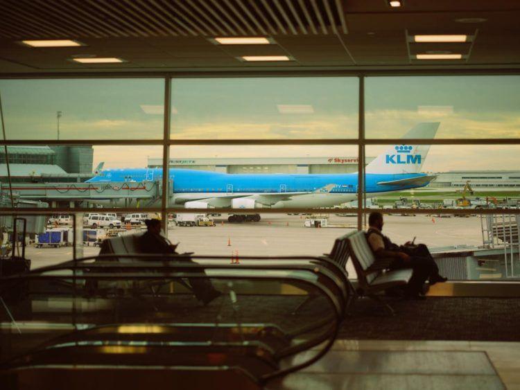 Klm Boeing 747 Flughafen Unsplash