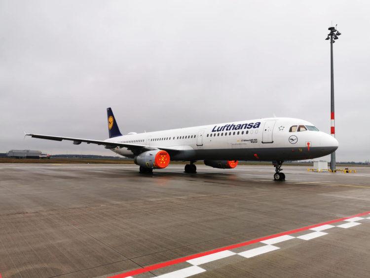 Lufthansa A321 Außer Dienst Copyright