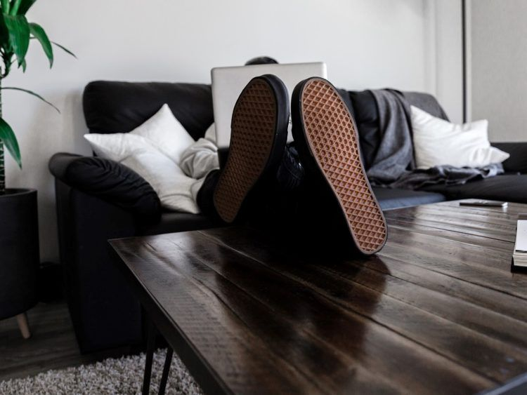 Sofa Laptop Copyright