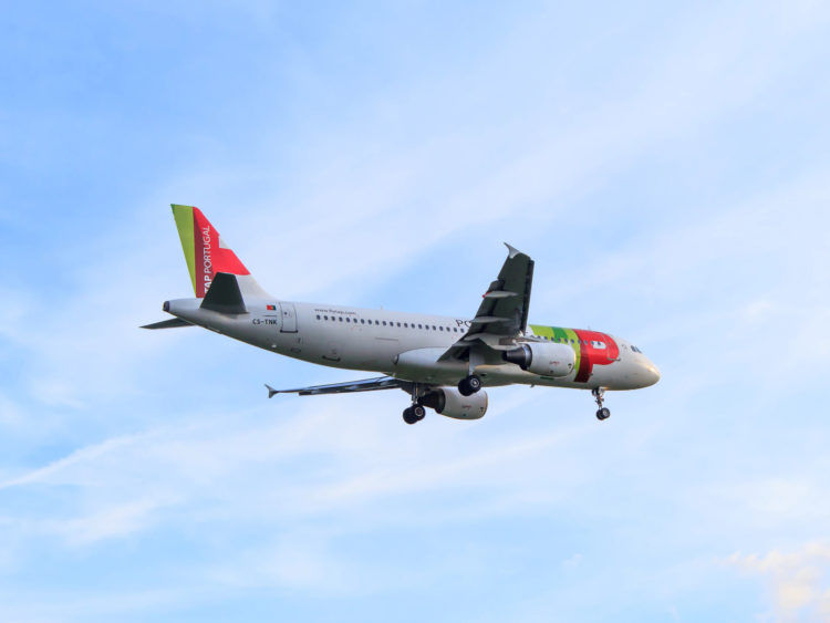 Tap Portugal Airbus A320 Flugzeug