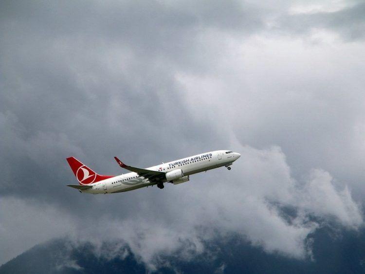 Turkish Airlines Boeing 737 Pixabay