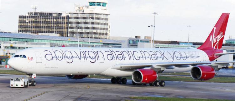 Virgin Atlantic A340 600 Speziallackierung Copyright