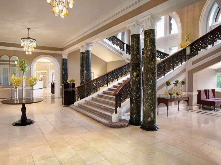Waldorf Astoria Edinburgh The Caledonian Lobby