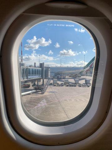 Alitalia A330 300 Ausblick Fenster 3