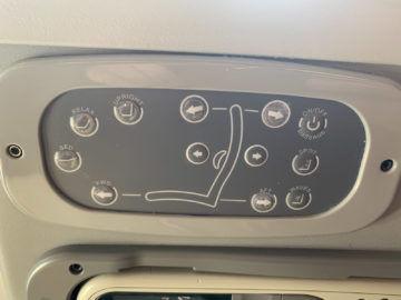 Alitalia Business Class A330 200 Bedienelemente Sitz 1