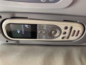 Alitalia Business Class A330 200 Fernbedienung Ife 1