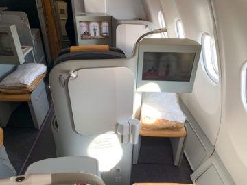 Alitalia Business Class A330 200 Kabine 2