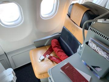 Alitalia Business Class A330 200 Sitz Fenster 2