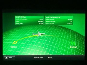 Alitalia Business Class Airshow 6