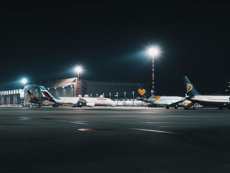 Eurowings Parkende Flugzeuge Unsplash