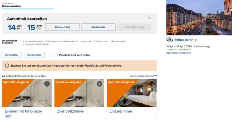 Hiltonhotels De Webseite Suche