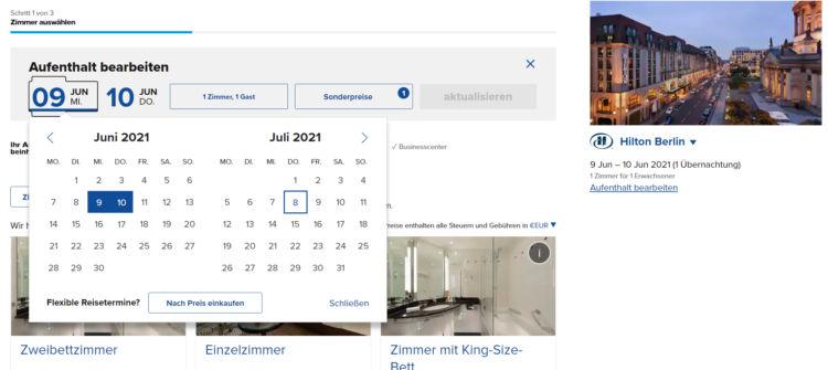 Hiltonhotels De Webseite Suche Aendern