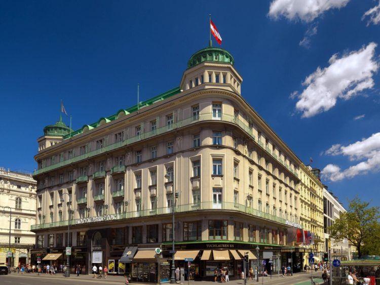 Hotel Bristol A Luxury Collection Hotel Vienna Außenansicht