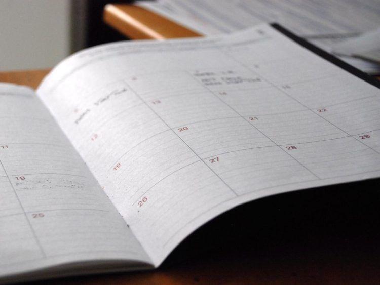 Kalender Unsplash