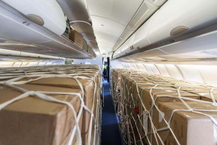 Lufthansa A330 Umbau Fracht