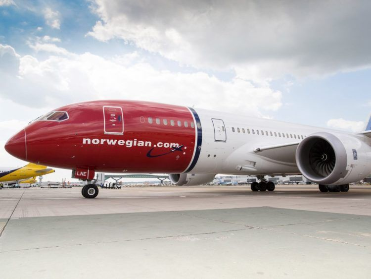 Norwegian Boeing 787 Copyright