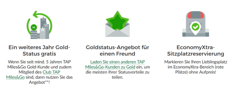 Tap Portugal Statusmatch Star Alliance Gold Status Verschenken