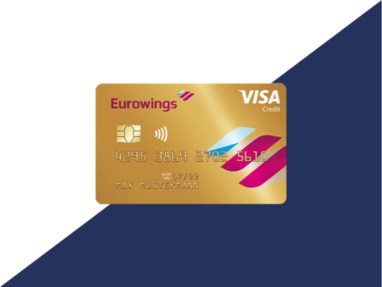 Eurowings Gold Kreditkarte Visa Beitragsbild