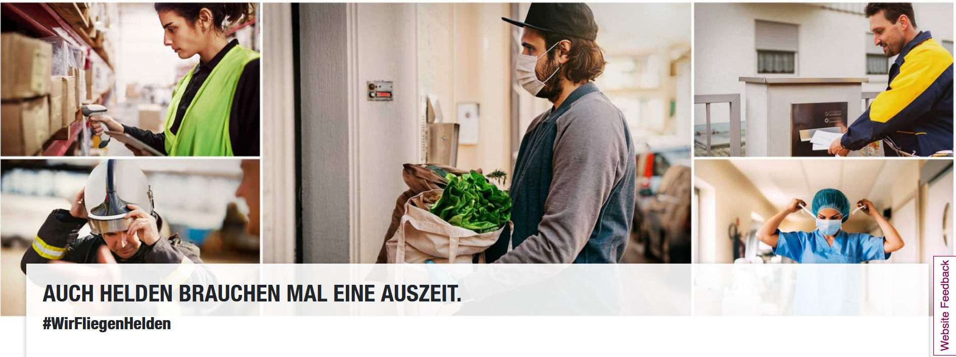 Eurowings Vergibt Freifluege An Alltagshelden