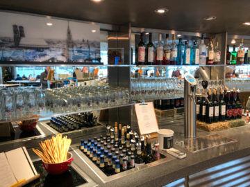 Lufthansa Business Lounge G28 Muenchen Auswahl Alkoholischer Getraenke