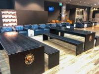 Lufthansa Business Lounge G28 Muenchen Bartische