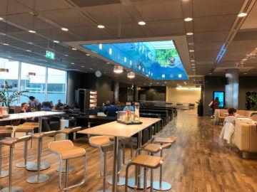 Lufthansa Business Lounge G28 Muenchen Blick In Die Lounge Hinten