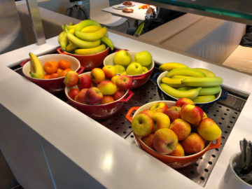 Lufthansa Business Lounge G28 Muenchen Obst
