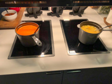 Lufthansa Business Lounge G28 Muenchen Suppe