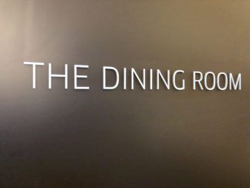 United Polaris Lounge Chicago Dining Room