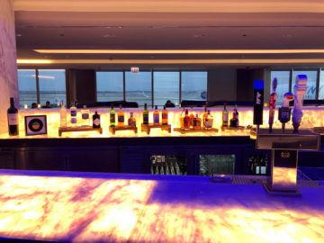 United Polaris Lounge Chicago Hochprozentiger Alkohol