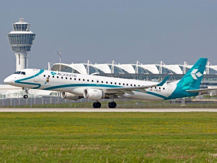 Air Dolomiti Flughafen Muenchen Copyright