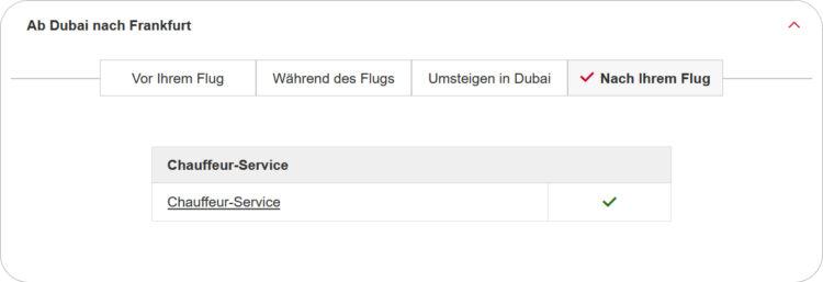 Emirates Chauffeur Service Frankfurt Ab Juli Verfuegbar