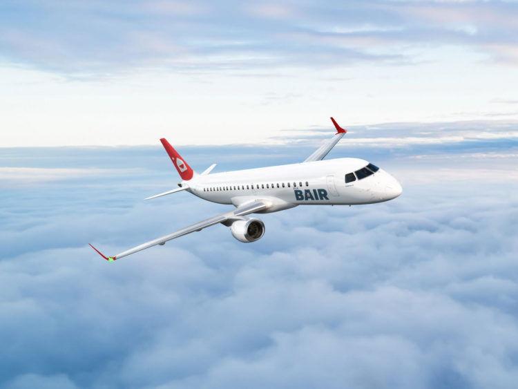 Flybair Embraer Flugzeug Copyright