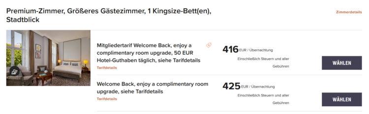 Marriott Welcome Back Promo Ritz Carlton Wien