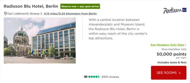 Radisson Blue Hotel Berlin