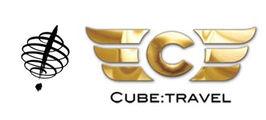 Virtuoso Cube Travel Logo