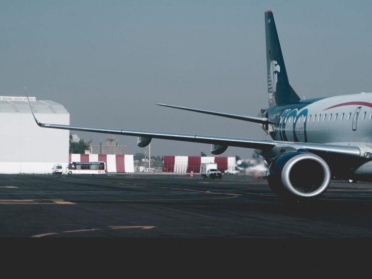 Aeromexico Flugzeug Copyright