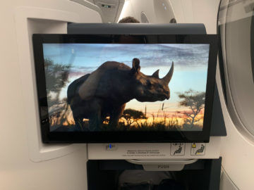 Air France Business Class A350 900 Ife Monitor 1