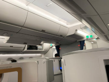 Air France Business Class A350 900 Kabine 3