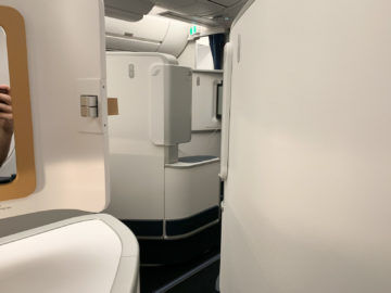 Air France Business Class A350 900 Privatsphäre 1