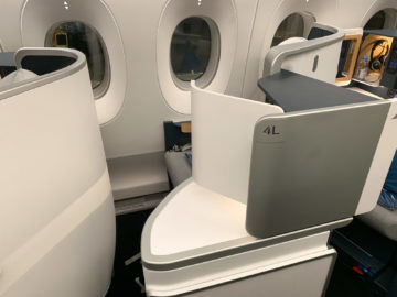 Air France Business Class A350 900 Sitz Fenster 3